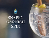 Bombay Sapphire: Snappy Garnish Spin