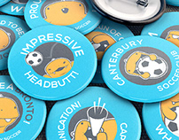Canterbury Soccer Club - Branding