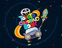 Toyota Coloring Book Cover