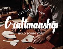 Craftmanship Font
