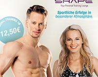 Private Sportsclub & SHAPE - Flyer