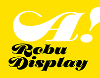 New Fonts: Robu Display