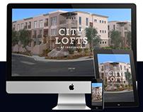 WEB DESIGN: City Lofts - Real Estate