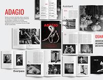 Editorial Design - Adagio