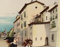 Ponte Vecchio Road