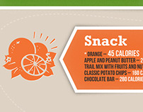 Bumble Bee Foods - Calorie Infographic