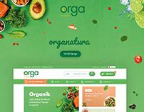 ORGANATURA UI/UX Design