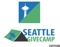 Logo Designs: Seattle Givecamp Hack-a-thon