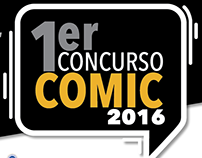 Logo Primer Concurso de Comic 2016
