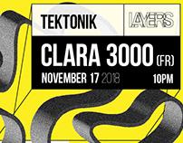 Layers x Tektonik: Clara 3000