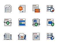 Icons design - Exabytes
