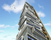 G+45 residential tower in downtown Dubai