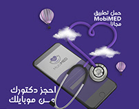 social media design for mobimed app