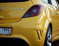 Opel Corsa OPC, Москва-Сити