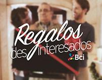 REGALOS DESINTERESADOS/ Banco Bci
