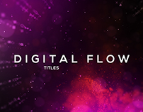 "Free After Effects Template ""Digital Flow Ttiles"""