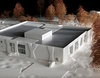 Egham Leisure Centre - Architectural Model Making