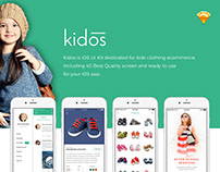Kidos iOS UI Kit For Clothing