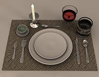 Tableware set l Rhino