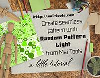Create seamless pattern with Random Pattern Light