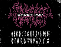 GHOST POP [ trash font ]