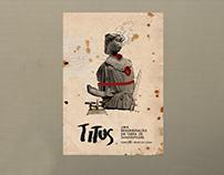 Espetáculo TITUS - Identidade Visual