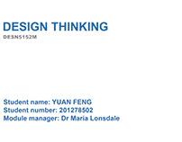 Design Think (University Project)