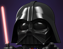Darth Vader - The little one.