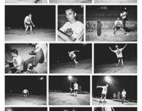Night skatepark