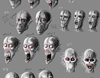 Vampire Head Concepts
