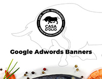 CASA D'OLID | Google Adwords Banners