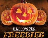 Free psd halloween set