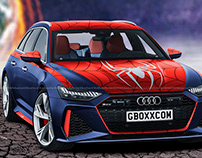 2020 Audi RS6 Avant Spider-Man Edition