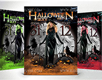 Halloween sexy party – Free Flyer Template