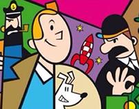 Las aventuras de Tintin by kiki viale