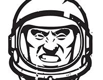 Bad Asstronaut Logo