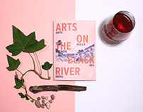 Arts On The Black River - Festival Identity