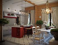 Kitchen. Second version
