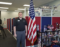 Glenn Sandler, CPA, of G.I. Tax Service Supports Troops