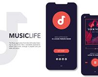 Music Apps UI Design