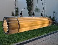 Tubes Lamp