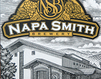 Napa Smith Brewery Labels Illustrated by Steven Noble
