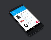 Redesign: Tiki App (Android)