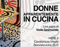 DONNE APPARENTEMENTE IN CUCINA\performance\Here 2018