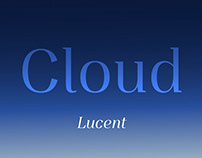 Cloud Lucent (Free Font)