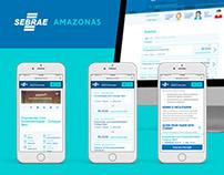 Sebrae Amazonas - Agenda de Capacitações Website