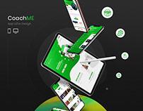CoachMe | Web App & Landing Page Ui / Ux Design
