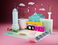 CDMX | 3D Illustration