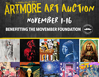 Official Art Auction With Crackle Benefiting MOVEMBER
