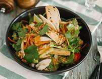 Food - Съемка меню и SMM для вегетарианского ресторана